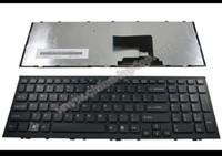 teclado vaio venda por atacado-Teclado do portátil novo e original para Sony Vaio VPC-EH Série VPCEH Preto EUA versão em inglês - V116646E