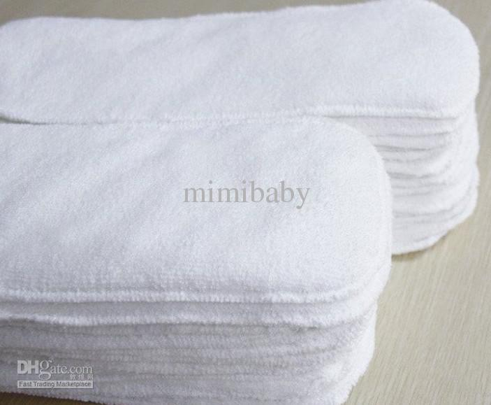 Wholesale-Naughtybaby New Arrive Double Row snaps Solid Color Cloth Diapers With Insert Set