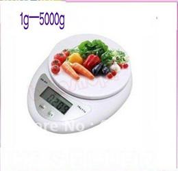Wholesale Digital Scales 1g - 30pcs lot 1g-5000g Digital Kitchen Food Diet Postal Scale MGXA059