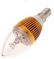 e14 vela lâmpada 9w venda por atacado-Alta Potência E14 E12 E27 9 W Regulável Levou Vela Lâmpadas Luz 110 V 230 V Branco Quente Holofote de Poupança De Energia