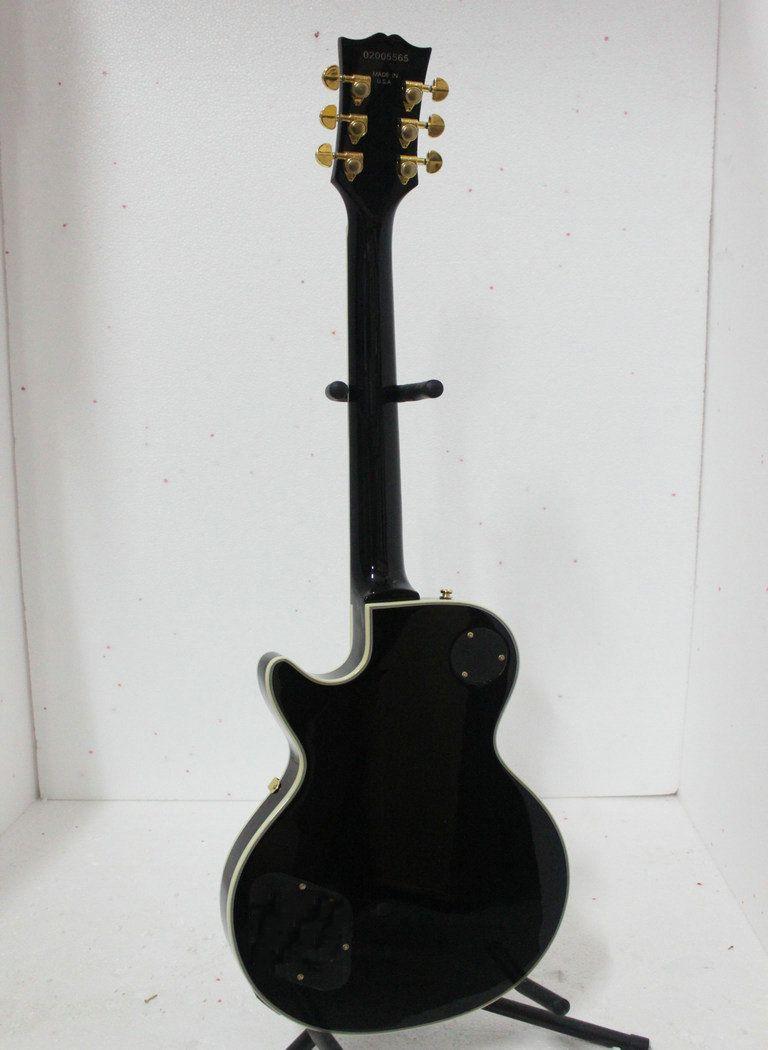 Groothandel -custom winkel aangepaste zwarte elektrische gitaar in voorraad muziekinstrumenten