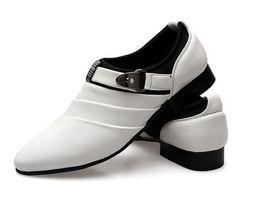 Bridegroom Wedding Shoes Canada - Cool sexy charming Groom shoes men's wedding shoes leather shoes Prom shoes for bridegroom shoes