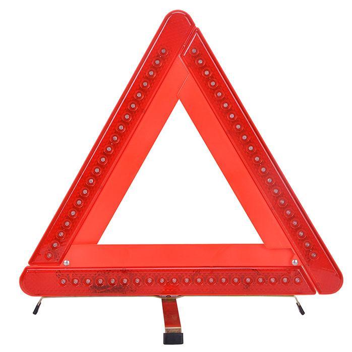 Car Emergency 60 Led Flashing Red Light Warning Triangle Strobe Light Signal  Easy Folding Easy Store Emergency Led Vehicle Lights Emergency Lights For  ...