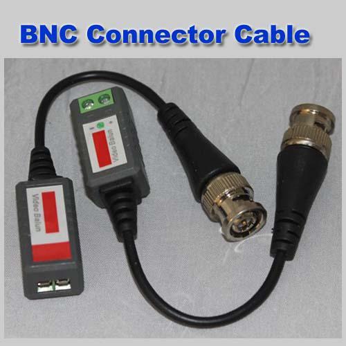 Mini CCTV Camera Passive Video Balun BNC Connector Cat5 UTP Coaxial Cable 100pcs/lot