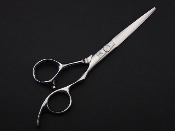 Tesoura de cabelo HIKARI tesoura de corte JP440C 6.0 INCH Parafuso plano de excelente qualidade 1 PÇS / LOTE NOVA