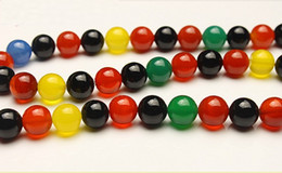 $enCountryForm.capitalKeyWord Canada - DIY \ the jewelry accessories 6 mm Color agate beads natural gemstone semi precious stones