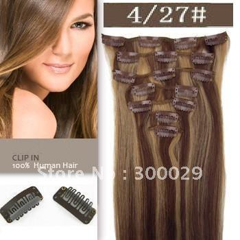 16 26 full head remy clip in human hair extension 100g 427 16 26 full head remy clip in human hair extension 100g 427 chocolate brown blonde mixed extension clips clips hair extensions from pauloctopus pmusecretfo Images