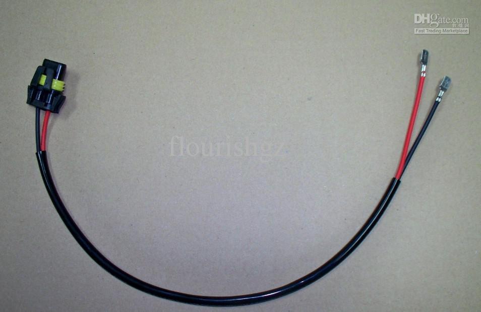 100cm HIDキセノン延長ケーブルの配線ケーブルへの電力は安定した高電圧H1 H7 H8 9005/6