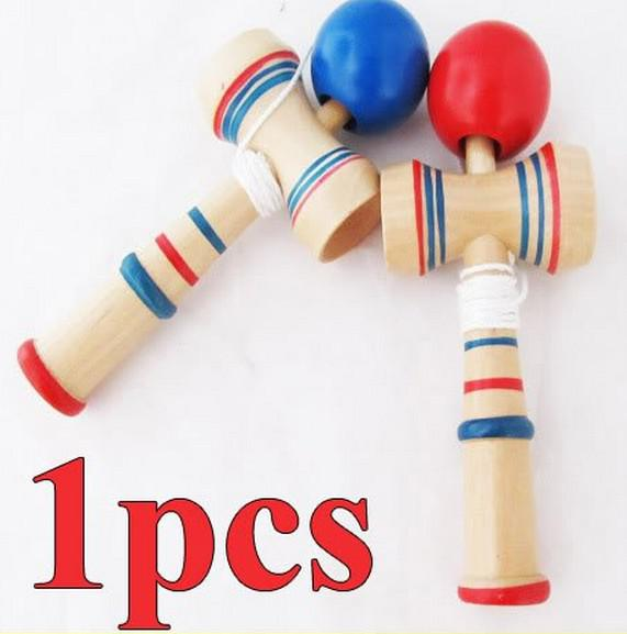 Hot Selling!Funny Bahama Traditional Wood Game Skill Kendama Ball Educational Toys for Adult Children Intelligence Kids baby wood Toys