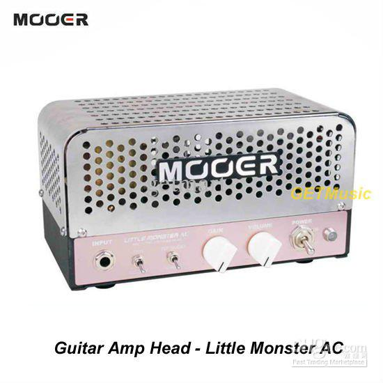 2017 mooer audio effects little monster ac 5w micro tube compact guitar amp head mu0539 from. Black Bedroom Furniture Sets. Home Design Ideas