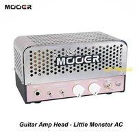 guitarra compacta al por mayor-Mooer Audio Effects Little Monster AC 5W Micro Tube Compact Guitar Amp Head MU0539