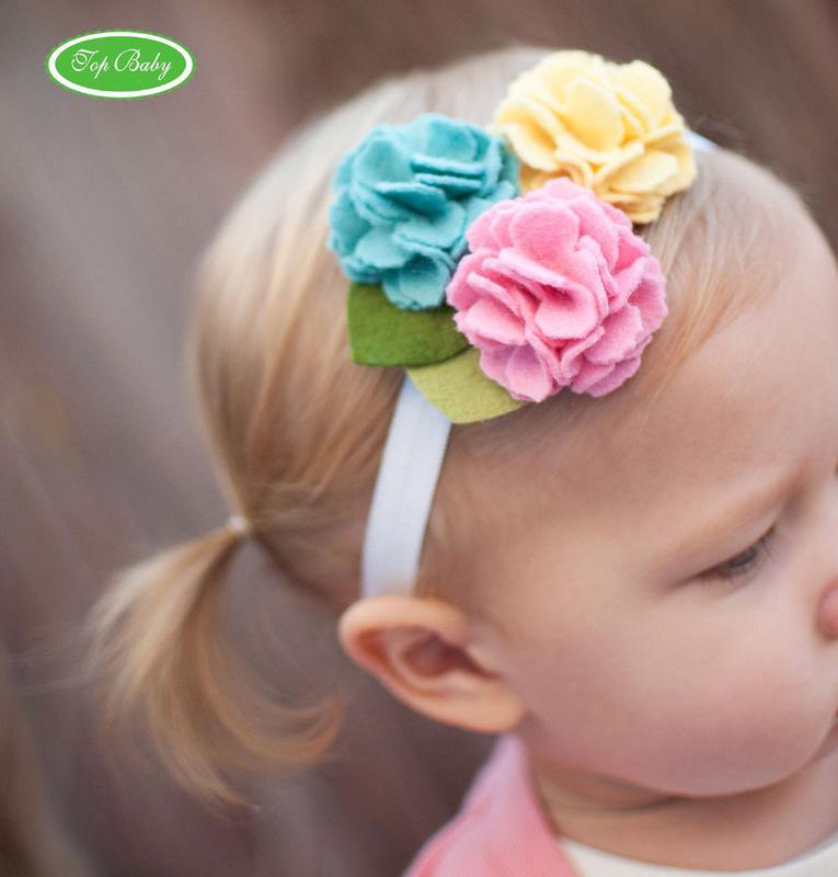 adornos para el cabello babys flor top beb nias nios de las vendas del pelo accesorios