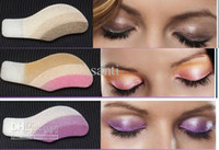 ingrosso ombretto adesivo dell'occhio-10 box Fashion Instant Eye Shadow Magic Eyes Eye Sticker Adesivo ombretto La vera schiuma Eye Magic