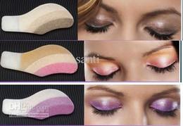 Wholesale Shadow Stickers - 10 box Fashion Instant Eye Shadow Magic Eyes Eye Sticker Eyeshadow sticker The actual Eye Magic foam