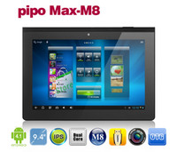 PIPO M8 9,4-дюймовый IPS Android 4.1 Tablet PC RK3066 Dual Core 1.6Ghz 1GB RAM 16GB Bluetooth HDMI
