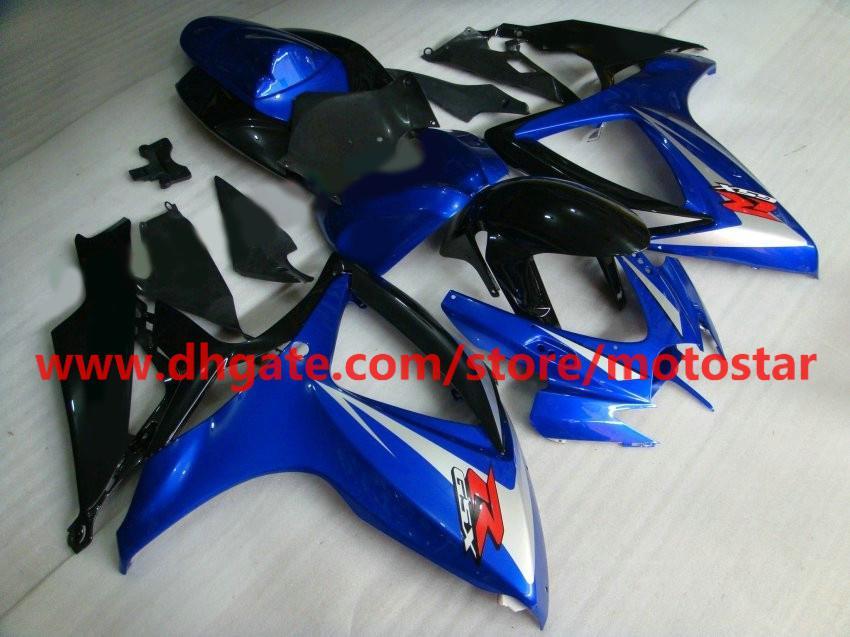 2006年2007年鈴木GSX-R600 GSXR750 06 07 GSXR 600 750 GSXR600 K6フェアリングキットK6X