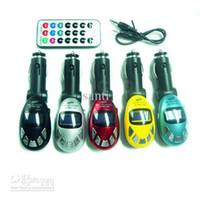 ingrosso jaguar mp3-Lettore MP3 per auto Trasmettitore FM senza fili Slot MMC USB SD NUOVO lettore digitale per auto MP3 Egg