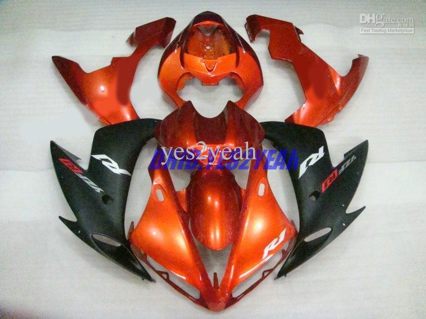 دراجة نارية هدية هيكل السيارة لياماها YZF-R1 YZF R1 2004 2005 2006 هيكل السيارة YZFR1 R1 04 05 06 Fairings set + gifts YY01