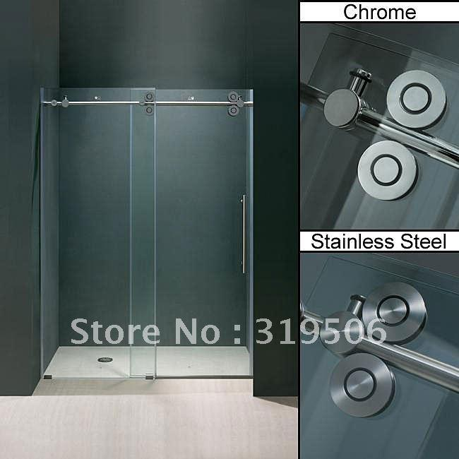 2018 frameless sliding glass shower door hardware from barndoorhardware 27136 dhgatecom - Glass Shower Door Hardware