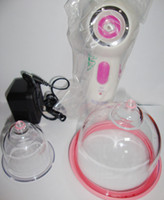 Wholesale Enlargement Electric - Electric Breast Enlargement Pump Breast Massager with two Breast Building Cups