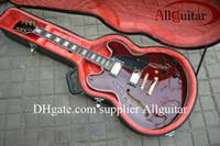 Wholesale Electric Guitar Semi Hollow Black - Top quality brown 335 jazz Semi Hollow electric guitar Musical Instruments