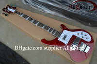 Wholesale Red Electric Guitars - New Style 4003 bass Candy red color electric bass guitar Musical Instruments