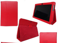 Wholesale Leather Case Galaxy Tab2 - 2 fold Leather Case Cover Folio Stand for Samsung GALAXY Tab2 tab 3 tab4 10.1 P5200
