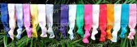 Wholesale Bracelet Ribbon Hair Tie - girls' Shimmery Hair Ties bracelet Ribbon hair tie elastic wristbands ponytail holder 50pcs FD6510