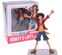 Wholesale Luffy Years After - Free Shipping One Piece Monkey D Luffy After 2 Years THE NEW WORLD PVC Figure Toy