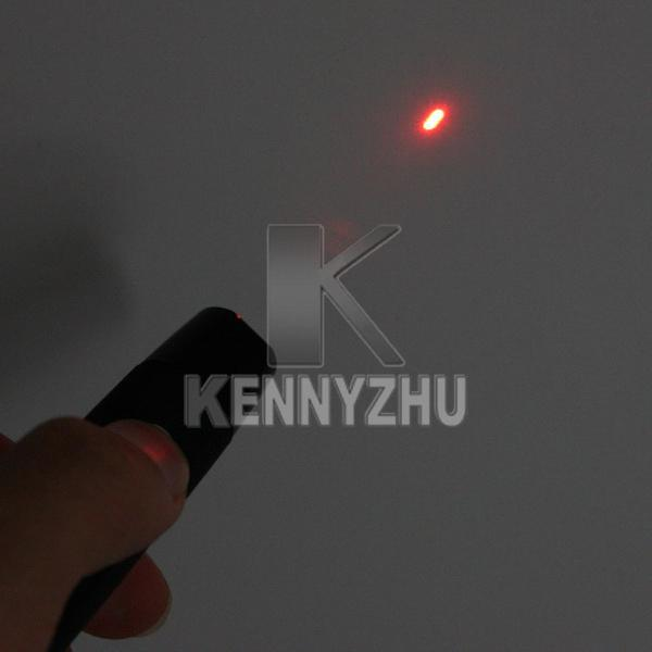 USB Wireless RF Remote Control Player Laser Pointer Power Point PPT Presenter For PC Laptop Notebook