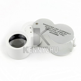 Wholesale Currency Detecting Magnifier - High Quality LED UV Currency Detecting Jewellery Identifying Magnifier Detector