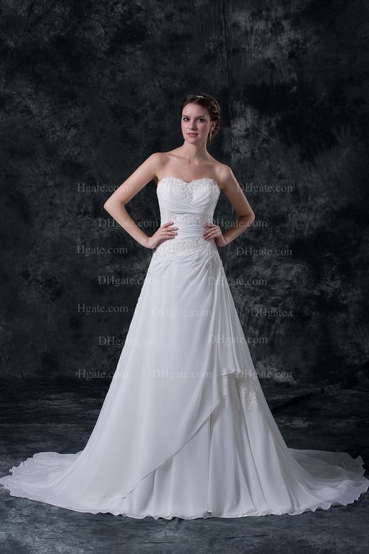 2013 New Fashion Sexy V-neck Backless Beaded Sheath Summer Beach Wedding Dresses DH003781