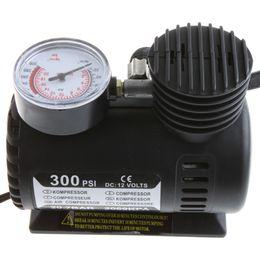 Wholesale Portable Electric Pump Car - Portable Car Auto 12V Electric Air Compressor Tire Pump Inflator 300PSI Free Shipping K590