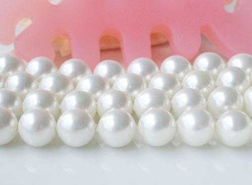 best selling Free Shipping AA12MM White color Round Shaper Mother Of Pearl Loose Bead Strand Shell Jewelry