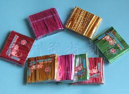 tiranti per borse Sconti Metallic Twist Tie per Candy Lollipop Cello Bag 800 pezzi confezione 8 cm