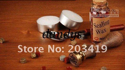 wholesale retail stamp seal sealing Wax vintage Classic antique Alphabet Initial letter set brass color creative romantic