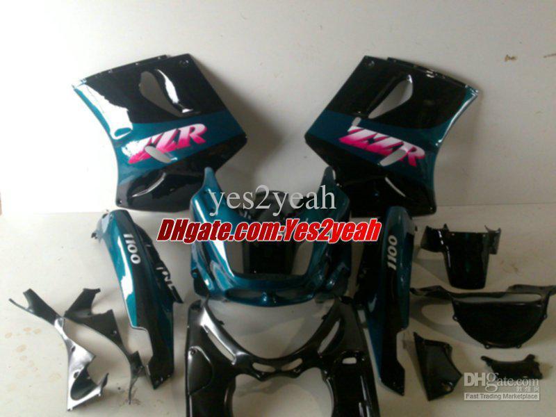 Kuiken Body Kit voor Kawasaki Ninja ZZR-1100 ZZR1100 1993 1999 2001 2003 Carrosserie ZX11 ZZR1100D 93 97 98 01 03 Valerijen Set + geschenken