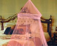 ingrosso tende a baldacchino a zanzara-notte zanzariere Net Good Sleeping Graziosa estate elegante letto tenda rete reticolato
