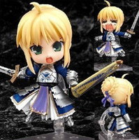 Wholesale Fate Saber Figure - Free Shipping Cute Fate Stay Night  Zero Saber Knight Nendoroid Figure Toy New in Box