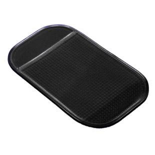 500ピース/ロットダッシュボードスティッキパッドブラック透明14cmマジックカーアンチスリップパッドのためのモバイルMP3