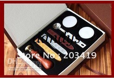 wholesale retail stamp seal sealing Wax vintage Classic antique Alphabet Initial letter set