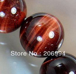 Wholesale Loose String Beads - free shipping new arrive African Roar Natural Tiger's Eye Round Loose Beads 15inch String 10mm 2pc lot fashion jewelry