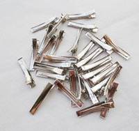 Wholesale Duck Clips - Metal Hair Clips,Hair Accessory Crocodile Clips.3.2 4.2cm ect many size Duck Clips.500pcs lot,C413 Free shipping New hot sale