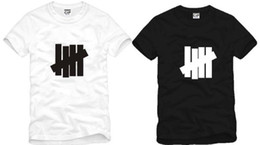 Wholesale Black Strike - Free shipping new arrival Hot Sale bigbang Undefeated UNDFTD STAR STRIKE 5 STRIKES Printed t-shirt 100% cotton 6 colors size: S-XXXL