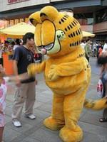 Wholesale garfield cartoon - Garfield HOT-Custom Products Plush(plus plush paragraph) Cartoon Character Costume mascot Garfield