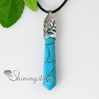 Wholesale Jade Gems Wholesale - semi precious stone agate turquoise jade rose quartz necklaces pendants jewelry precious stone jewelry gem stone jewellery