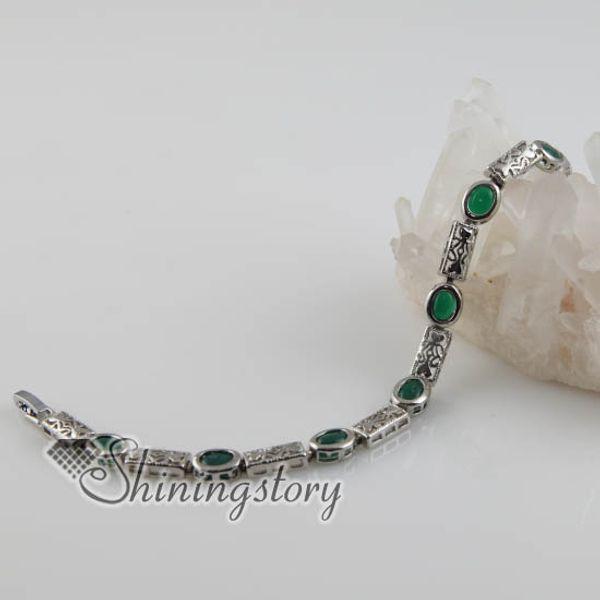 круглый ажурный браслет из нефрита с драгоценными камнями браслет из бусин из драгоценных камней Spsb80011 украшения с камнями кулон из полудрагоценных камней