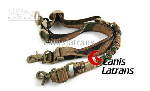 Tactical 2 Punto honda del rifle Bungee ajustable CP ACU para los rifles escopetas Mossberg Remington arma larga Rifle Escopeta CL13-0038 honda de la correa