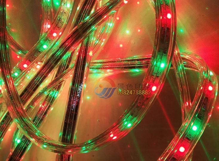 RGB AC 110V Tira LED para exteriores impermeable 5050 SMD Neon Light 60LEDs / M con fuente de alimentación que se puede cortar en 1 metro a través de DHL FedEx