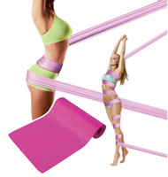 Wholesale Taping Body Sculpting - Magic Body Sculpting Tape Slimming Belt Yoga Bands Long Belts Straps